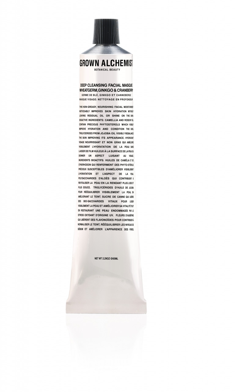 Facial Masque Deep Purifying Wheatgerm Ginkgo &...