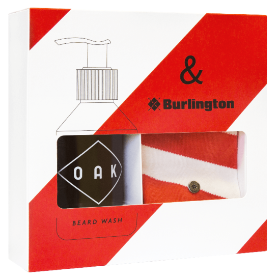 OAK x Burlington Set Rot-Weiss